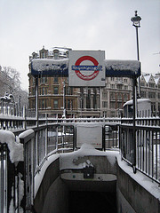 Icy Tube Sign