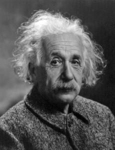 Albert Einstein. Image © 1947.
